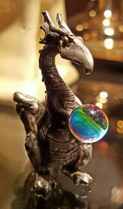 Wish Fulfillment Cute Dragon gets a Crystal Ball