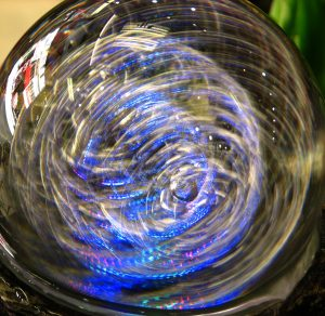 Nested Spheres Crystal Ball