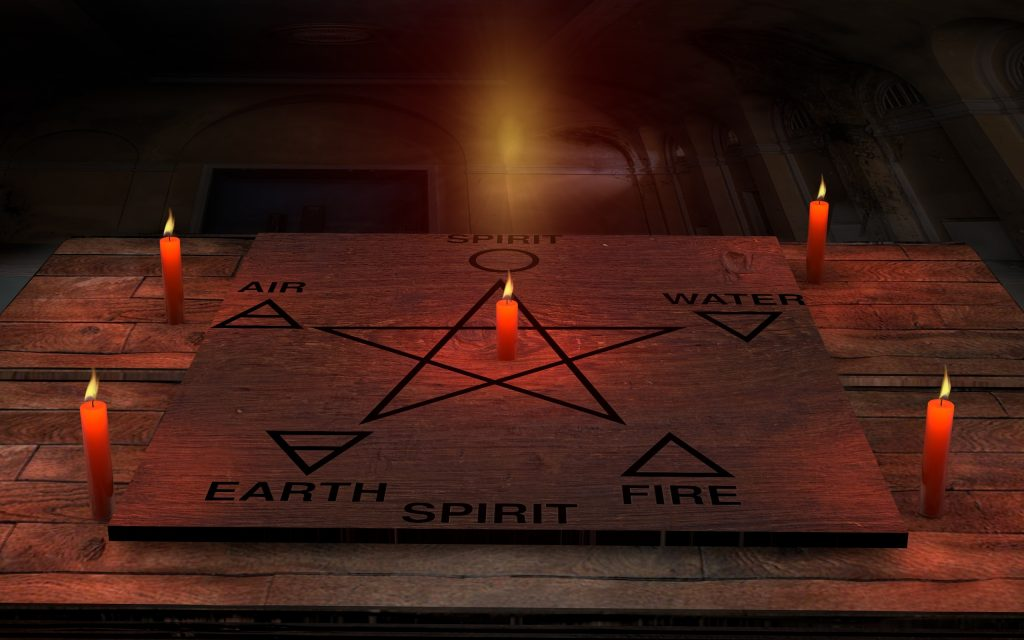 The Five Points of the Pentagram